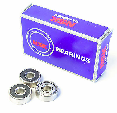 NSK 606V, 606Z DEEP GROOVE BALL BEARING, 6mm x 17mm x 6mm, FIT: C0, DBL SEAL