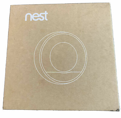 Nest 2nd Gen Learning Thermostat - New Never Used - Stainless Steel - Open
