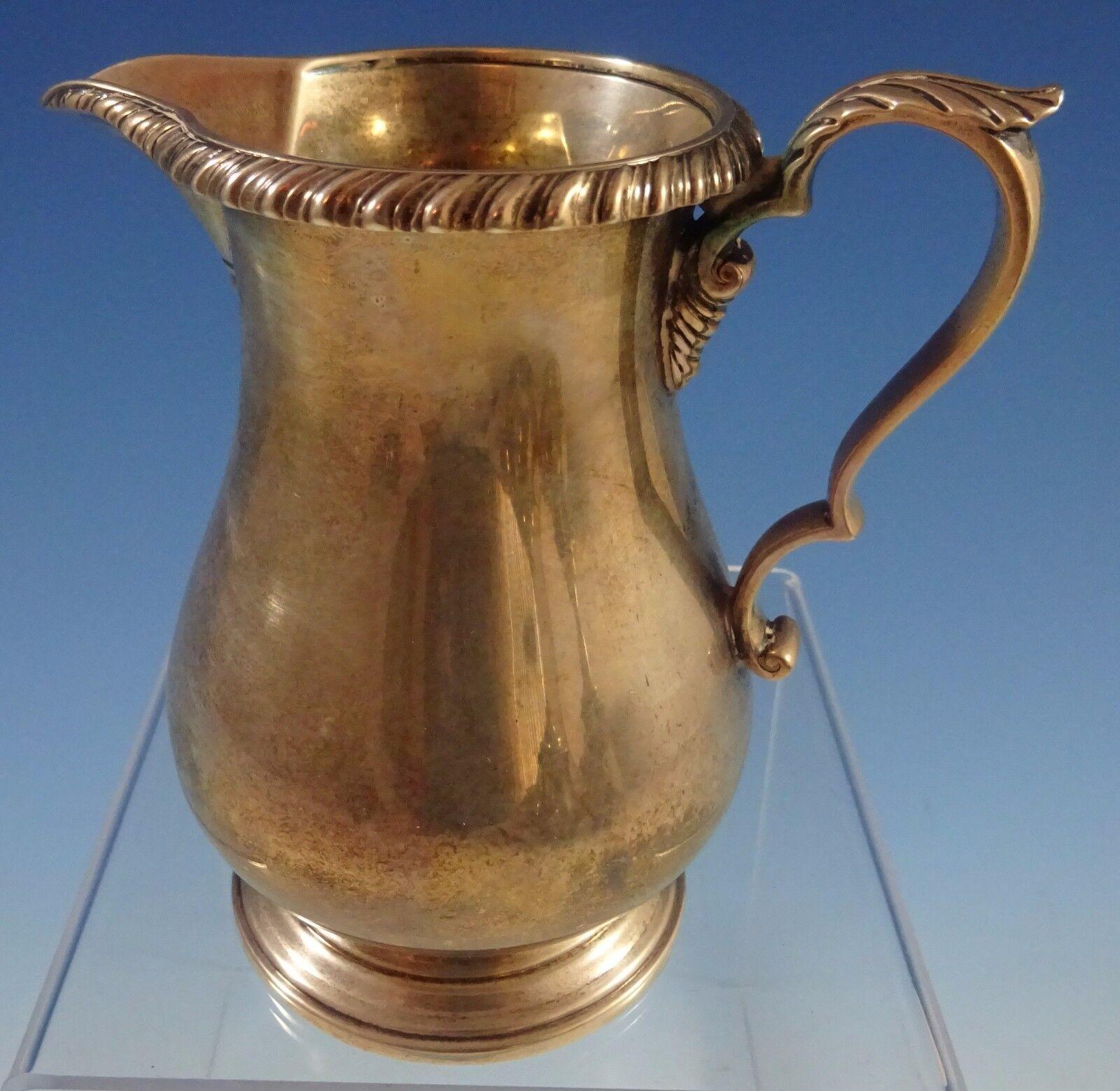 Kensington By Gorham Sterling Silver Tea Set 6pc With Quot D