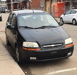 2007 Chevrolet Aveo (Négociable)