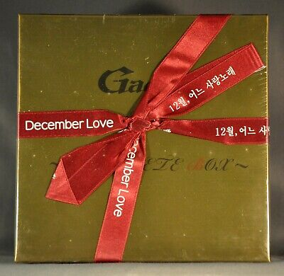 GACKT 12月のLove Songs~COMPLETE BOX~Orig. 2006 JAPAN CD, AromaLamp + PostCards NEW for sale  Folsom