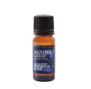 Mystic Moments   Menthol Liquid Essential Oil - 100% Pure - 10ml (EO10MENTLIQU)