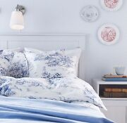 Blue Toile Bedding