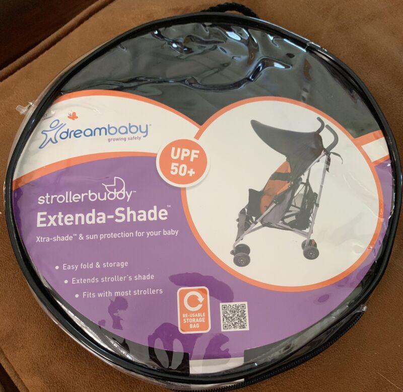 Dreambaby Strollerbuddy Extenda-Shade Umbrella Stroller Sun Canopy