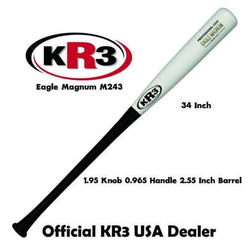 2020 Season Special KR3 Eagle Maple Magnum Denser Wood Baseball Bat C243 34 in