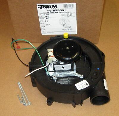 Draft Inducer Furnace Blower Motor For Goodman 223075-01 119384-00 Rotom Rfb501