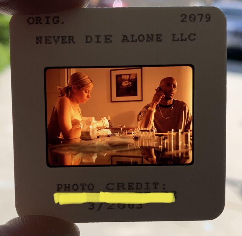 Rare DMX Test Slide Press Photo NEVER DIE ALONE Movie RUFF RYDERS Album Lp Cd 2