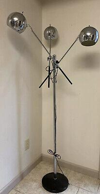 SONNEMAN TRIENNALE STYLE CHROME 3 ARM EYEBALL FLOOR LAMP MODERN Chrome Modern Floor Lamp