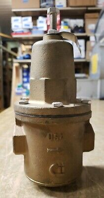 Apollo Water Pressure Reduce Valve 34 Fnpt Pipe Bronze 36h204 1j-2910-x14