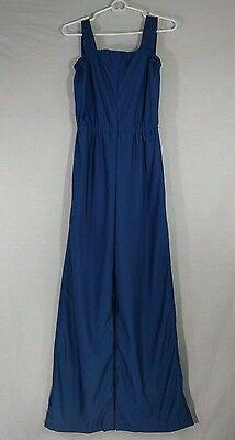 Amazing Women's Vintage Blue Jumpsuit 70s 80s Retro