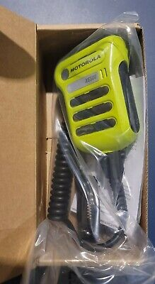 Motorola Pmmn4107c Xe500 Rsm Green Apx7000 Apx8000apx6000 Rugd Noise Canc