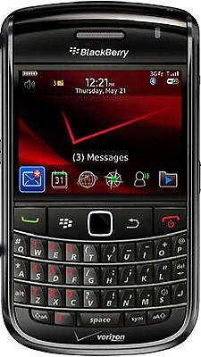 BlackBerry Bold 9630 Black(VERIZON-UNLOCKED GSM)GOOD CONDITION-CLEAN ESN