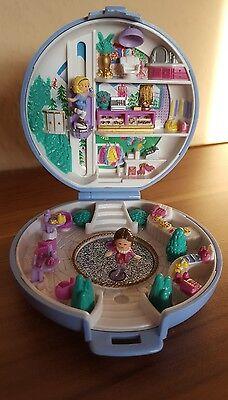 Polly Pocket Skating Party 100 % komplett 1989 Eisprinzessin Hotel Juwelier