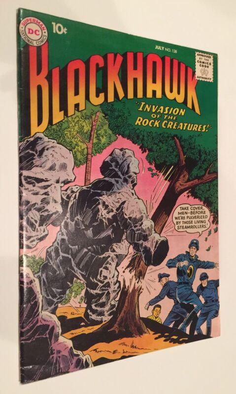 Blackhawk #138 (Jul 1959, DC) VF- 7.5