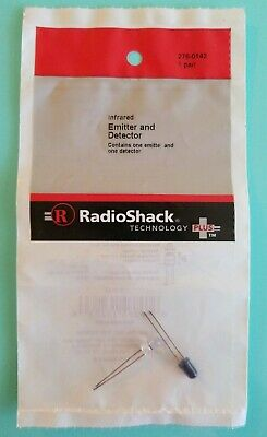 New Radioshack Infrared Led Emitter And Detector 2760142 Free Shipping