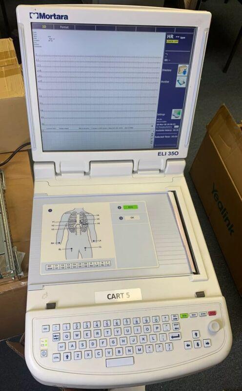 Mortara Eli 350 EKG Machine