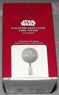 Hallmark 2020 Keepsake Miniature Death Star Tree Topper Star Wars Xmas NIB