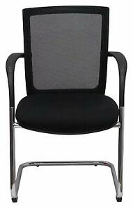 Mesh Back Cantilever Visitor Chair Set of 6 Ascot Brisbane North East Preview