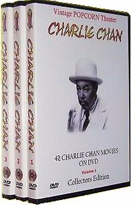 42 Charlie Chan Movies On 14 Dvds   Bonus Otr   New Sealed   Great Gift