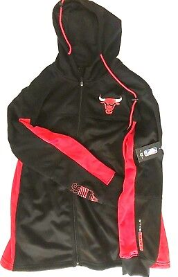 Chicago Bulls Official NBA Store Men's XL Pullover Warm-Up Track Jacket NBA - Chicago Bulls Store