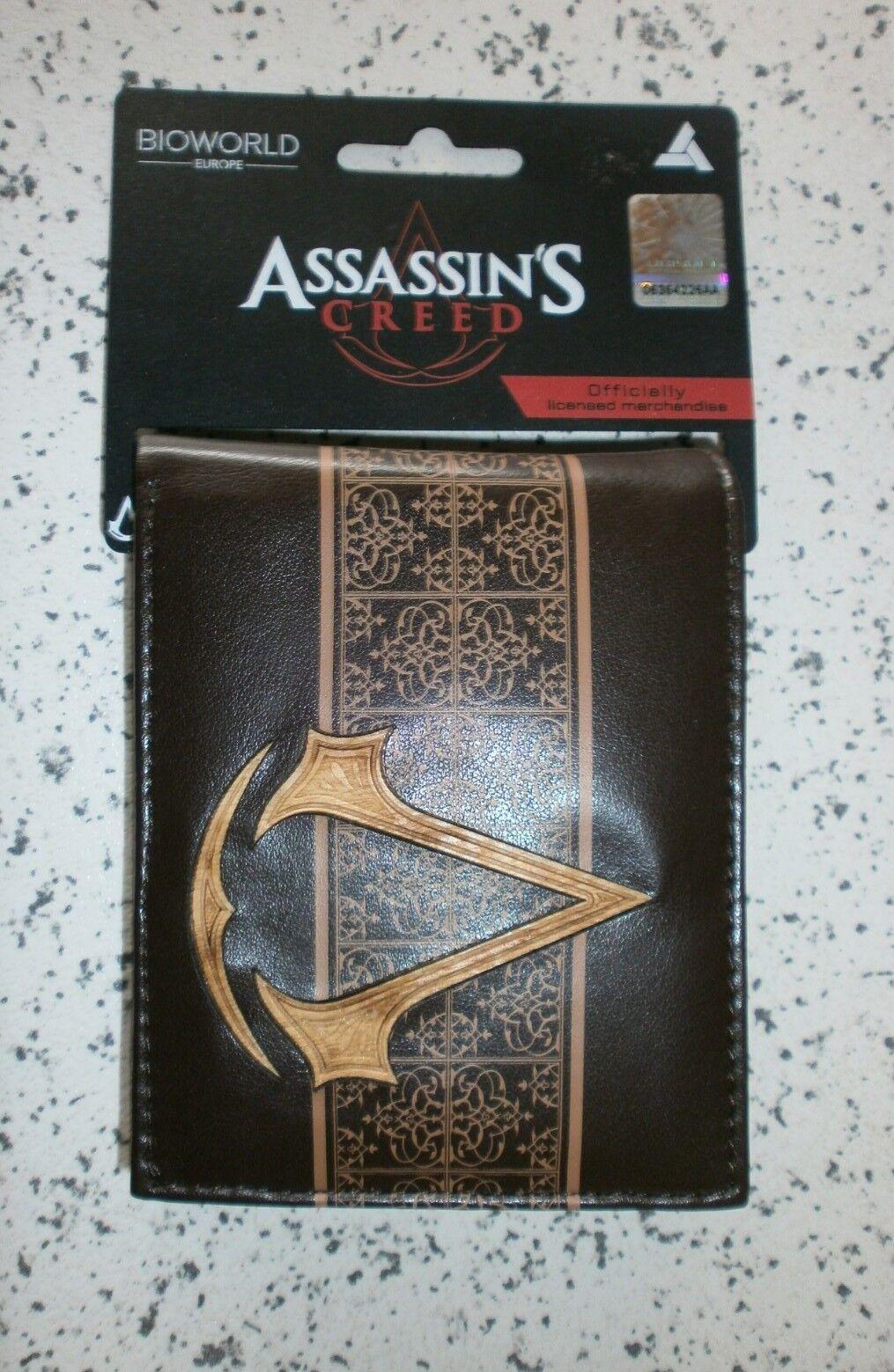 Assassins Creed Portafoglio nuovo ancora etichettato. Original Merchandising