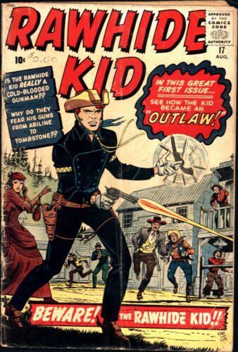 Rawhide Kid #17 Silver Age Marvel 2.5