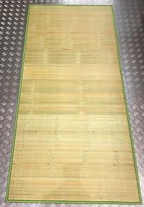 Traditional bamboo mat single 175cm x 85cm natural curtain wall paper Floor 单人竹席