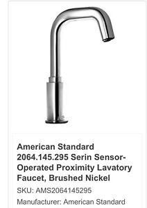 American Standard Serin Deck Mount Electronic Proximity  Faucet