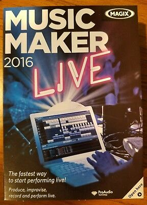 Brand *New MAGIX Music Maker 2016 Live  for sale  Frostburg