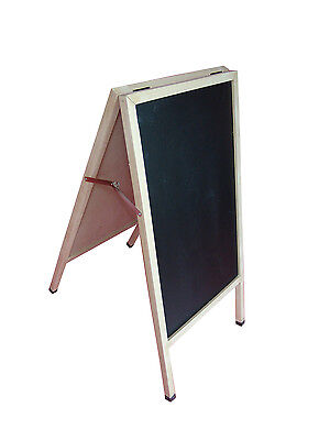 A-frame Black Board Sidewalk Sign Menu Board Pavement Promo A-frame Chalkboard