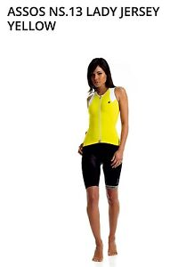 NEW- ASSOS NS.13 LADY JERSEY  Sleeveless summer jersey,  Size L.