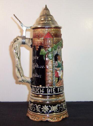 1/2 Liter Musical German Stein - Plays Lorelei