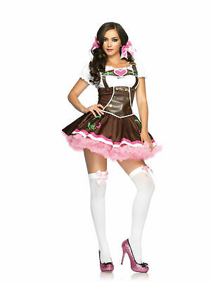 Girl Adult Costume (LEG AVENUE LIL' GERMAN GIRL ADULT COSTUME VARIOUS SIZES BRAND)