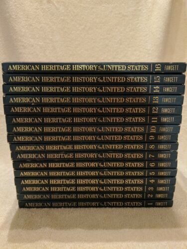 American Heritage New Illustrated History of the United States Volumes 1-16