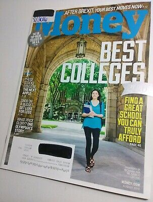 Money Magazine 8/2016 Best Affordable Colleges Guide [Near Mint issue]