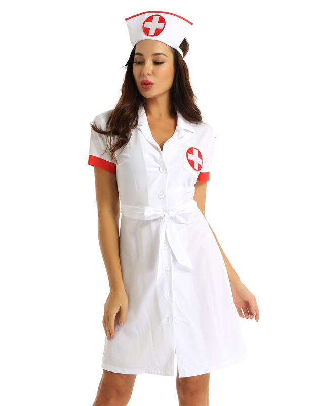 Womens Plus Size Doctors Orders Nurse Costume 2X