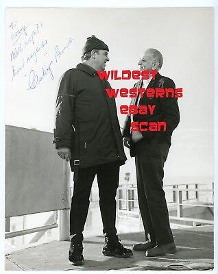 CUBBY BROCCOLI Original Signed Photo JAMES BOND On Her Majesty's Secret Service