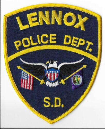 Lennox Police Department, South Dakota Shoulder Patch