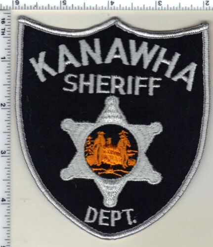 Kanawha Sheriff Dept. (West Virginia) 4th Issue Shoulder Patch