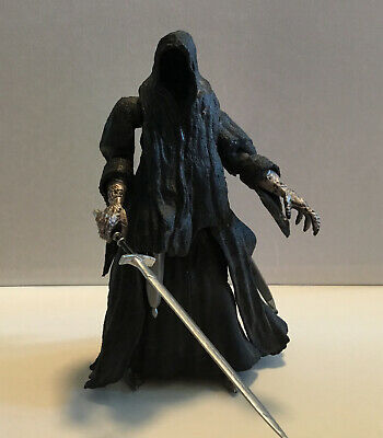 """Lord of The Rings Ring Wraith Nazgul 7"""" Loose 2001 Figure"""