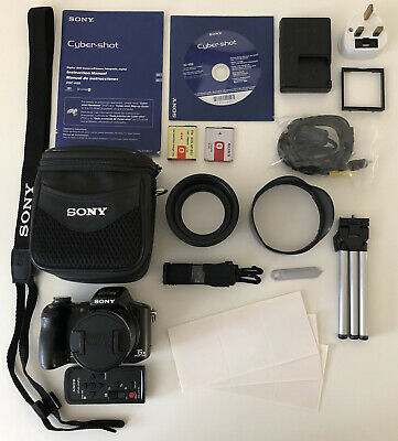 Sony Cybershot DSC-H50 9.1MP 1080p 15x Optical Zoom IR Nightshot Digital Camera