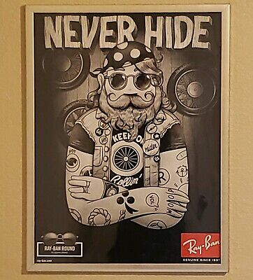 MCBESS Never Hide Ray-Ban Promo (Never Hide)