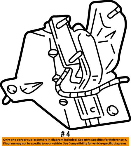Ford Oem Engine Motor Transmission Mounting Bracket Left 8c2z6029a