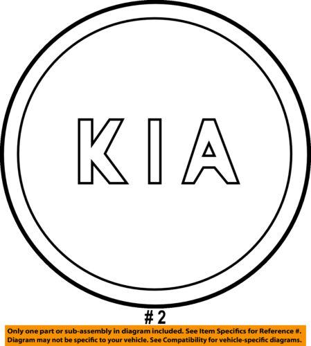 Kia Oem 11 15 Optima Wheels Center Cap 529602t300