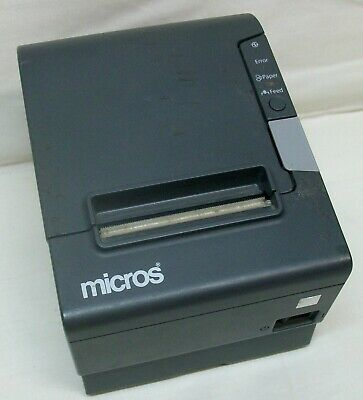 Epson Tm-t88iv Model M244a Micros Point-of-sale Receipt Printer Wpaper Roll