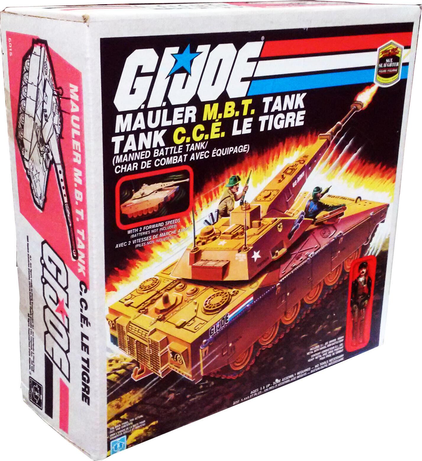 GI Joe arah MBT Mauler Antennas Smoke Grenades Custom Accessory Parts Lot