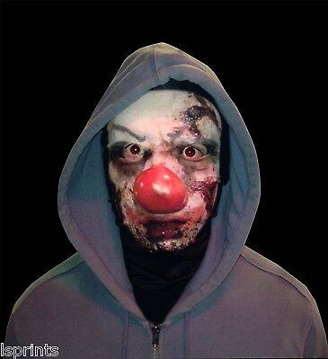 icht Halloween Neuheit Lycra Gewebe Gesichtsmaske Schal (Halloween Clown-gesicht)