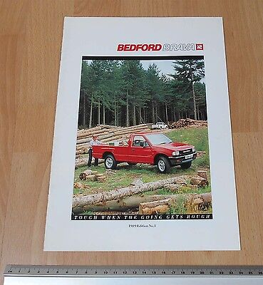 1989 Edtion 1 Bedford Brava Catalogue