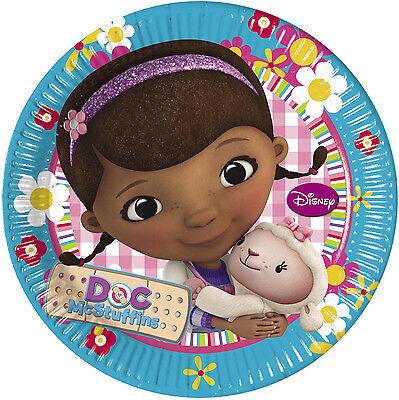 Doc McStuffins Party Plates, cups, napkins, table cover Loot bag and fillers](Doc Mcstuffins Cups)