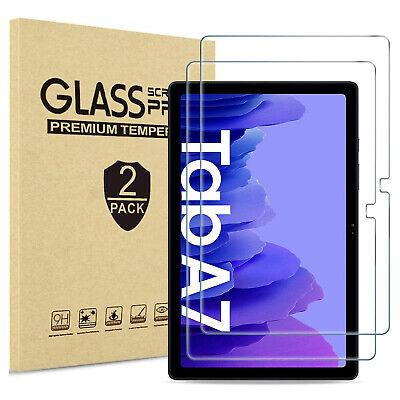 PACK DE 2 PROTECTOR CRISTAL TEMPLADO Para Samsung Galaxy Tab A7 T500...